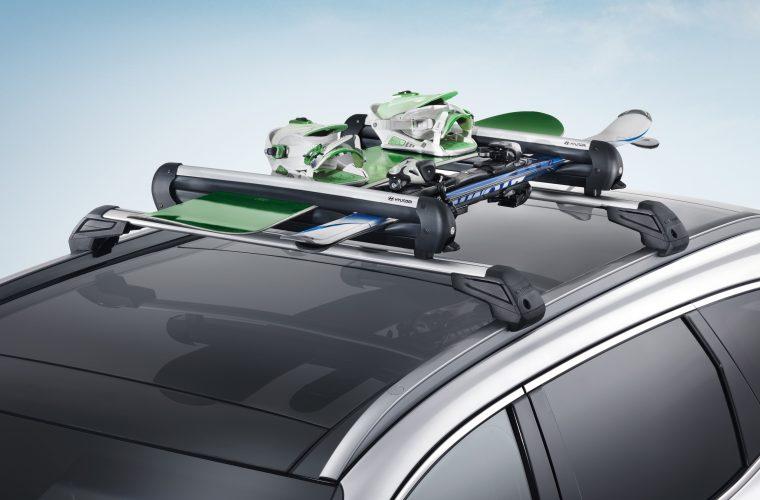 Accessori auto porta sci